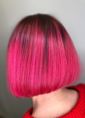 Pinkki hiusväri Elumen